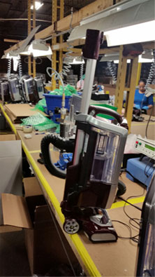 Remanufacturing of Vacuums